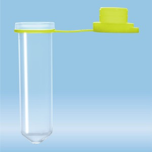 Micro tube 2ml, yellow