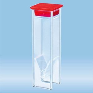 UV cuvette,LCH 15mm,with cap