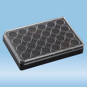 lumox® multiwell, Cell culture plate, with foil base, 24 well