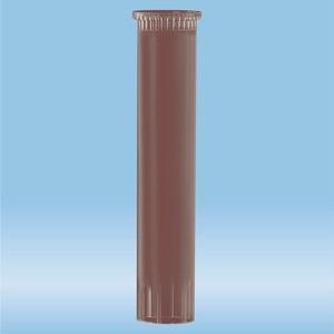 Carrier tube, (LxØ): 60 x 11.5 mm, PP, brown