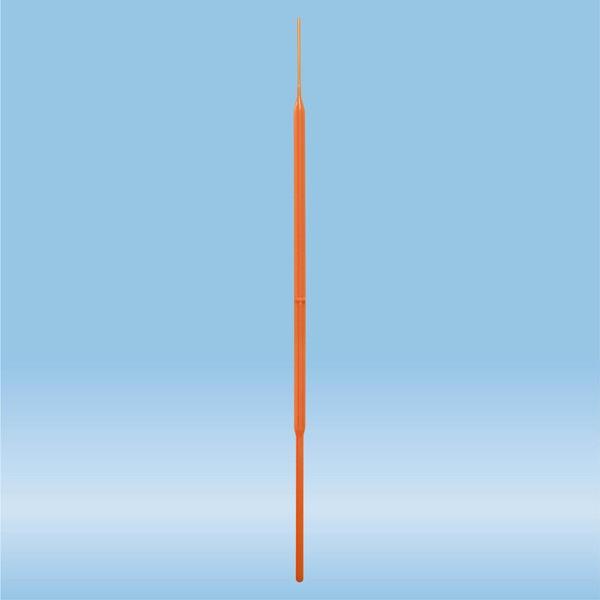 Inoculation needle, PS, orange, sterile
