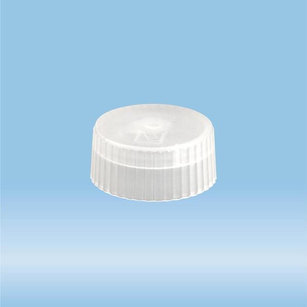 Lid for sample tube 73.666, length: 8 mm, LD-PE