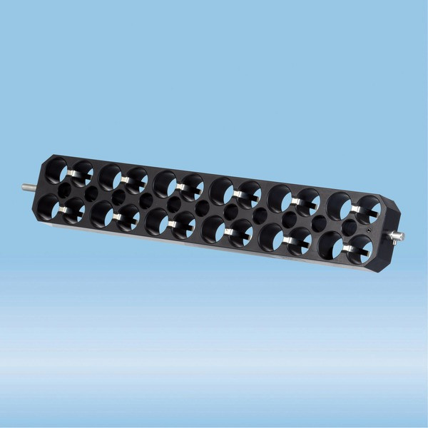 Block rotor, for 24 tubes up to 17 mm Ø (15 ml tubes), for Sarmix® M2000