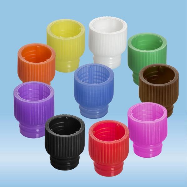Push cap, colour mix, suitable for tubes Ø 12 mm