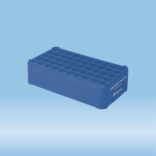 S-Monovette® rack D13, Ø opening: 13 mm, 10 x 5, blue