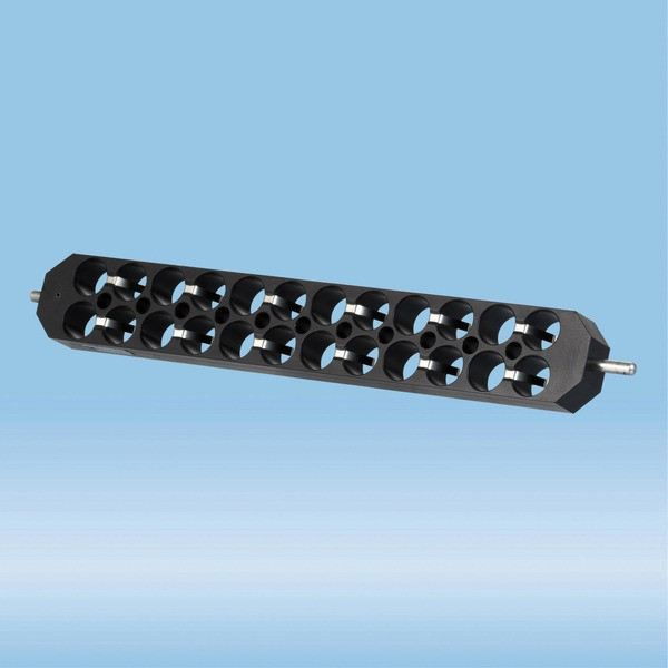 Block rotor, for 24 tubes up to 15 mm diameter, for Sarmix® M2000