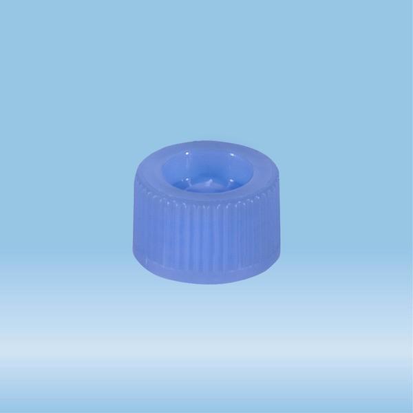 Screw cap, blue, suitable for tubes 82 x 13 mm