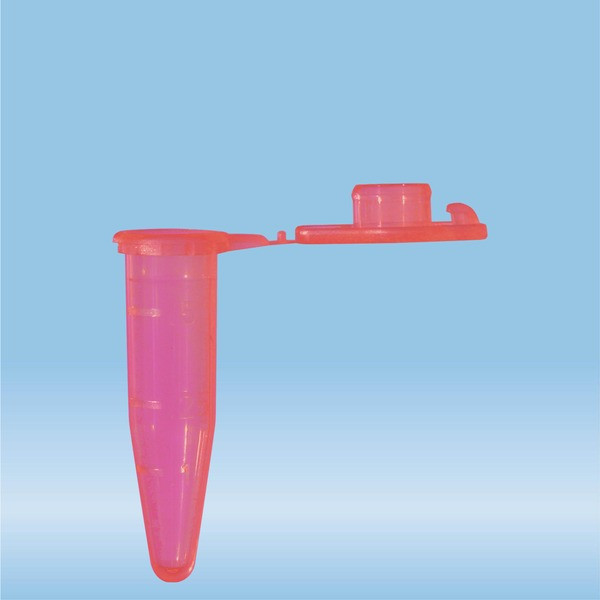 SafeSeal reaction tube, 0.5 ml, PP