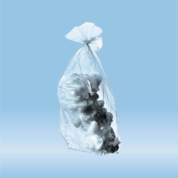Disposal bags, 24 l, (LxW): 780 x 400 mm, PP, transparent
