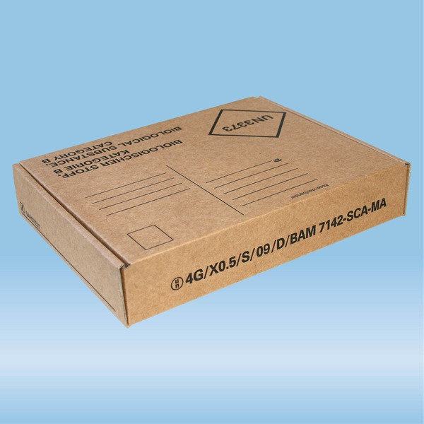 Post transport packaging, 220 x 170 x 45 mm