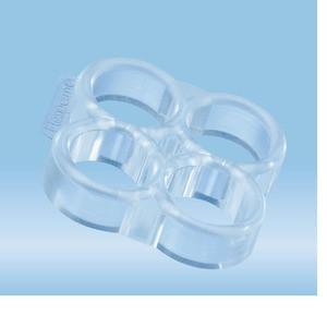 flexiPERM®, disc, re-usable silicon insert, 4 well, 5 piece(s)/bag