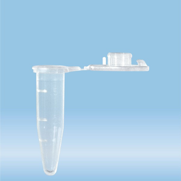 SafeSeal reaction tube, 0.5 ml, PP, PCR Performance Tested, Low protein-binding