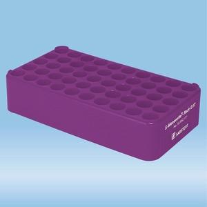 S-Monovette® rack D17, Ø opening: 17 mm, 10 x 5, violet