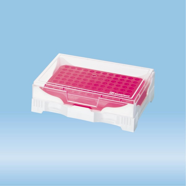 IsoFreeze® PCR Rack, PP, format: 12 x 8, suitable for 0.2 ml PCR tubes
