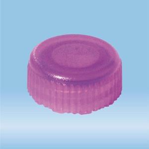 Screw cap, violet, suitable for screw cap micro tubes