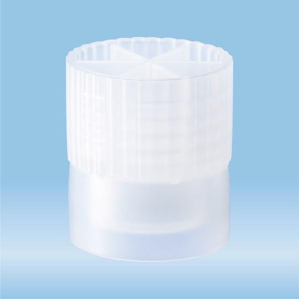 Cap, natural, suitable for tubes Ø 13 mm