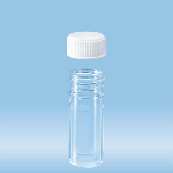 Screw cap tube, 7 ml, (LxØ): 47 x 20 mm, PC