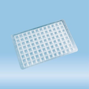 Closure mat, for Deep Well MegaBlock® 2.2 ml (82.1972.002), (LxW): 79 x 121 mm, EVA, transparent