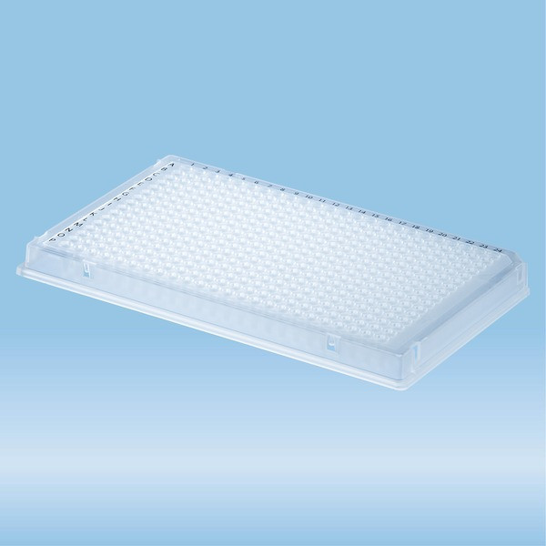 PCRplate full skirt, 384 well, transparent, Low-Profile, 40 µl, PCR Performance Tested, PP