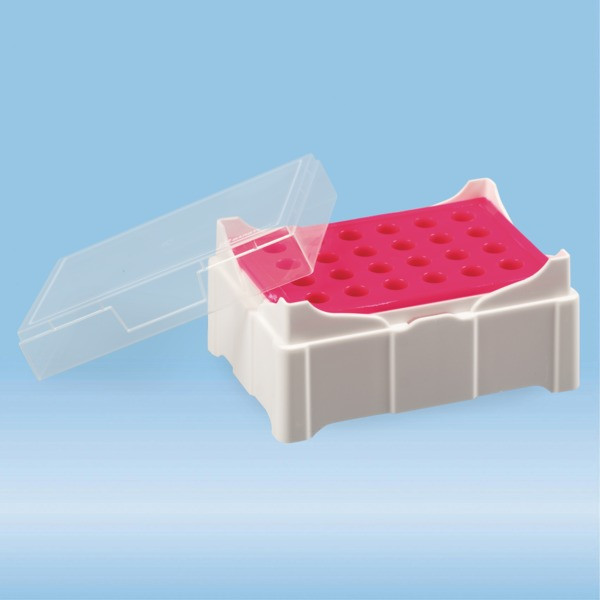 IsoFreeze® MCT Rack, PP, format: 6 x 4, suitable for micro tube Ø 10.8 mm (1.5 ml & 2 ml)