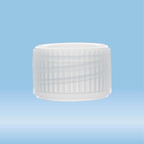 Screw cap, natural, suitable for tubes Ø 11 mm