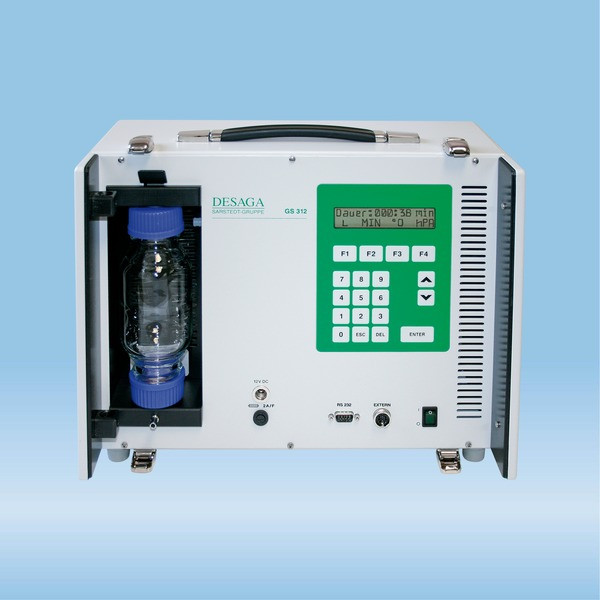 Gas sampler, GS 312, incl. mains adapter GN 100–240/12V