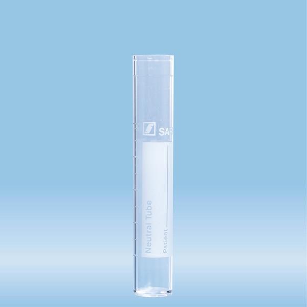 Tube, 12 ml, (LxØ): 95 x 16.5 mm, PS, with print