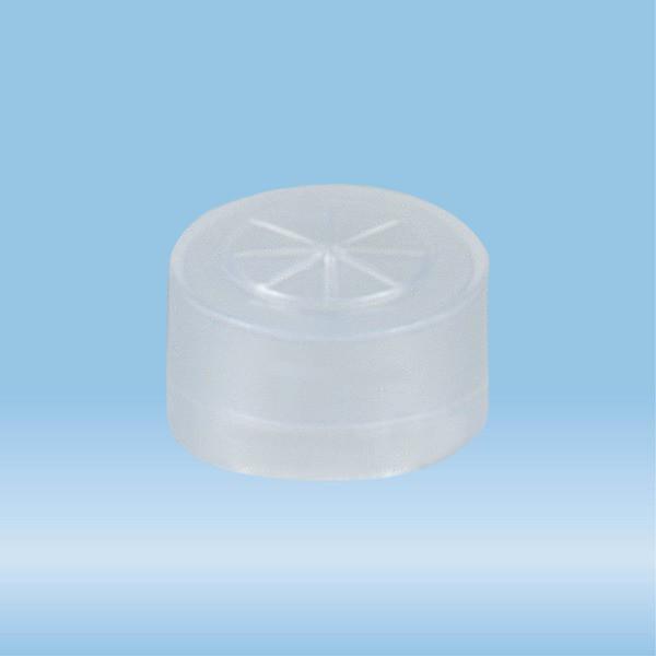 Cap, transparent, suitable for tubes Ø 12 mm