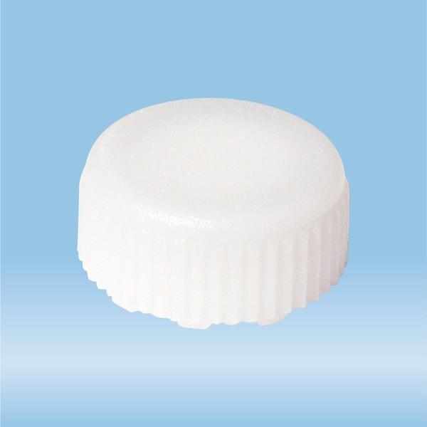 Screw cap, white, suitable for screw cap micro tubes