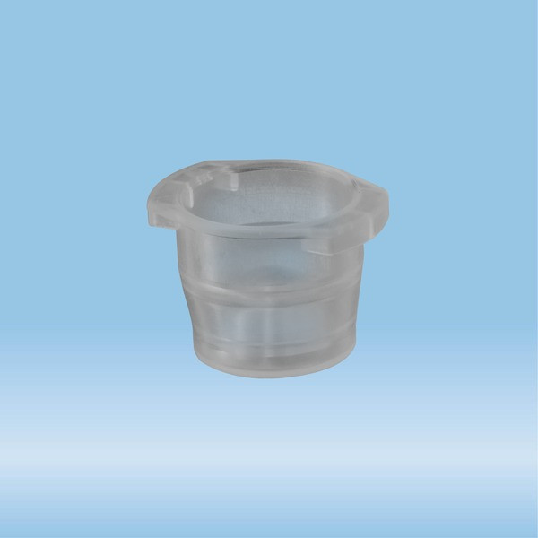 Cap, grey, suitable for tubes Ø 10-16 mm