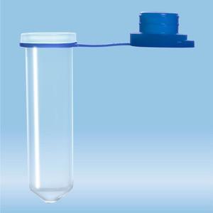 Micro tube 2ml, blue