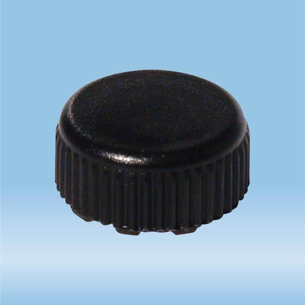 Screw cap, black, sterile, suitable for screw cap micro tubes