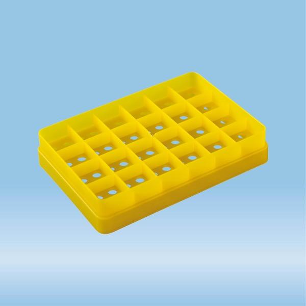 Individual tray, yellow