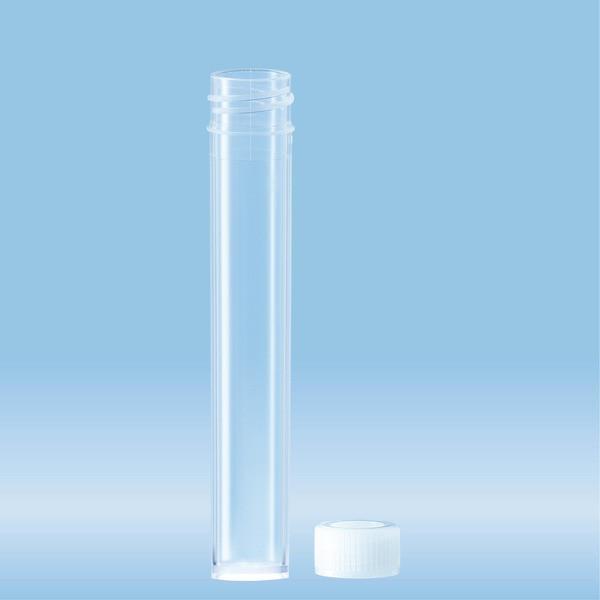 Screw cap tube, 7 ml, (LxØ): 82 x 13 mm, PP