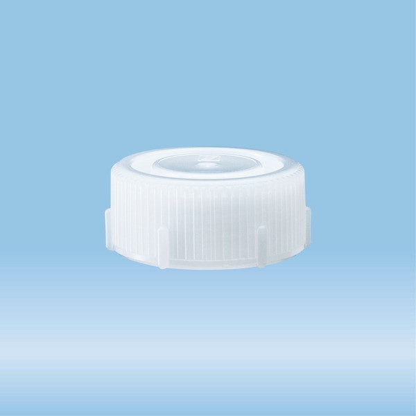 Screw cap, natural, suitable for protective container 85 x 30 mm