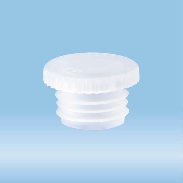 Push cap, natural, suitable for tubes Ø 15.7 mm