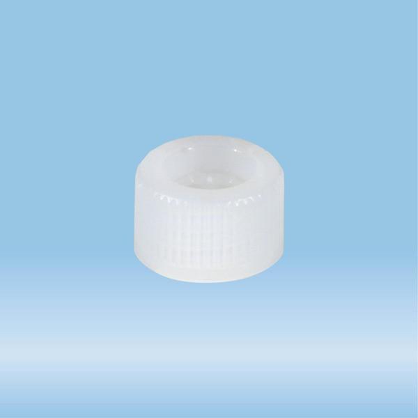 Screw cap, transparent, suitable for tubes 82 x 13 mm