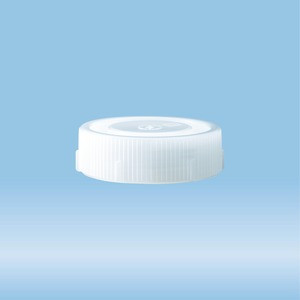 Screw cap, natural, suitable for protective container 114 x 44 mm