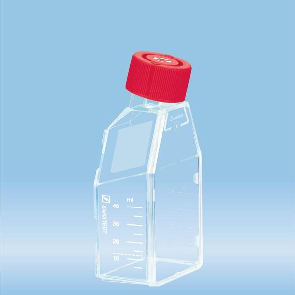 Cell culture flask, T-25, surface: Standard, Filter cap