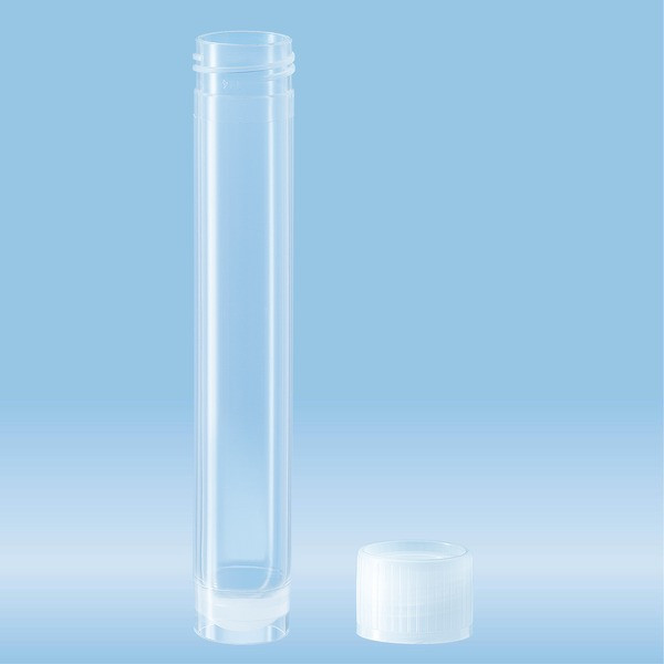 Screw cap tube, 13 ml, (LxØ): 101 x 16.5 mm, PP