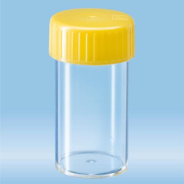 Screw cap tube, 25 ml, (LxØ): 54 x 27 mm, PS