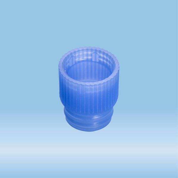 Push cap, blue, suitable for tubes Ø 13 mm