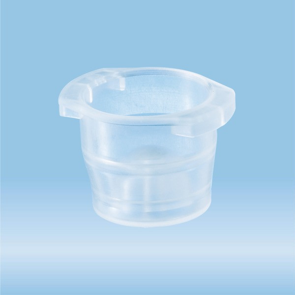 Cap, natural, suitable for tubes Ø 12-17 mm