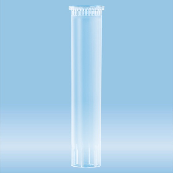 Carrier tube, (LxØ): 60 x 11.5 mm, PP, transparent