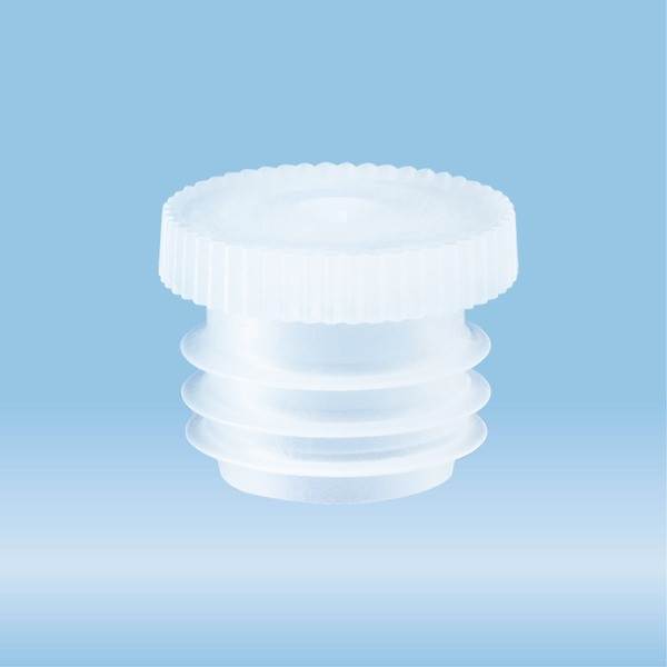 Push cap, natural, suitable for tubes Ø 13 mm