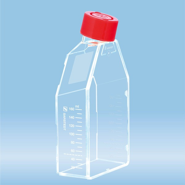 Cell culture flask, T-75, surface: Standard, 2-position screw cap