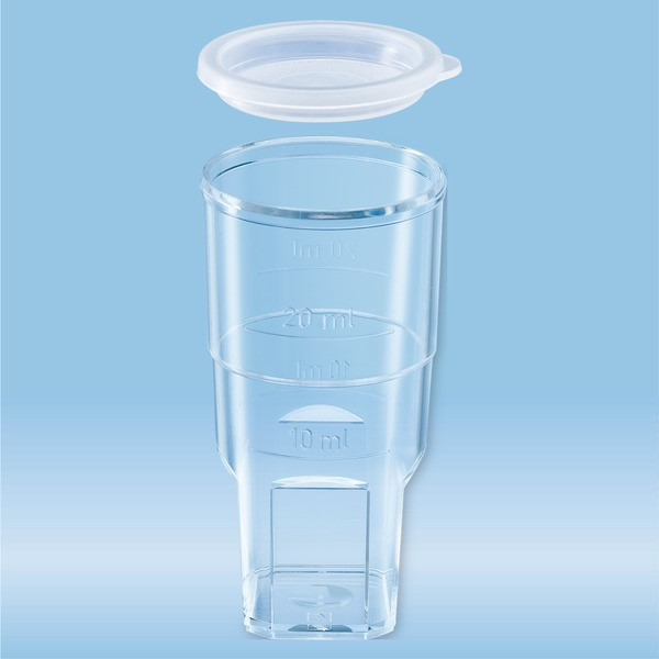 Sample tube, suitable for Coulter Counter