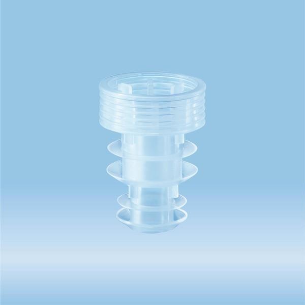 Archiving cap, light blue, suitable for tubes Ø 10.8 mm