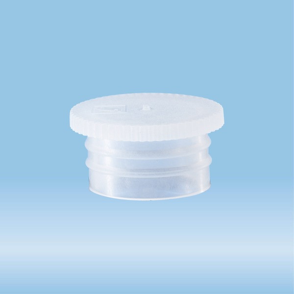 Push cap, natural, suitable for tubes Ø 15.5, 16, 16.5, 16.8 and 17 mm