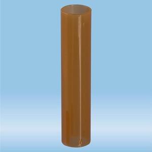 Adapter tube, (LxØ): 54 x 11 mm, PP, brown